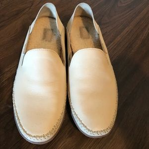 Ugg cream loafers